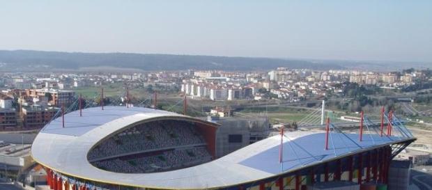 Estádio Dr. Magalhães Pessoa, em Leiria