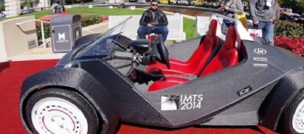 Strati, el nuevo coche eléctrico