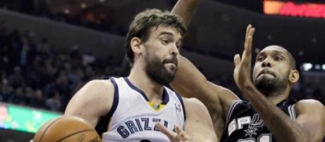 Marc Gasol domina las zonas de la NBA