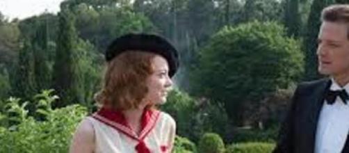 Emma Stone y Colin Firth en la Costa Azul