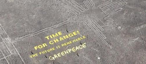 Linee di Nazca strumentalizzate da Greenpeace