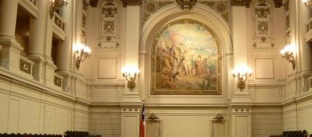 El congreso nacional chileno