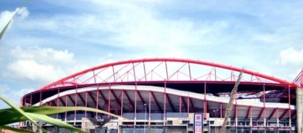 Estádio da Luz, em Lisboa.
