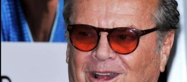 Jack Nicholson en su casa debido a su enfermedad.