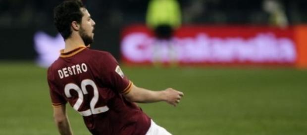 Mattia Destro, terza stagione per lui con la Roma