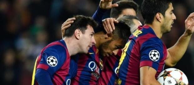 Messi, Neymar y Suárez, tridente de ensueño.