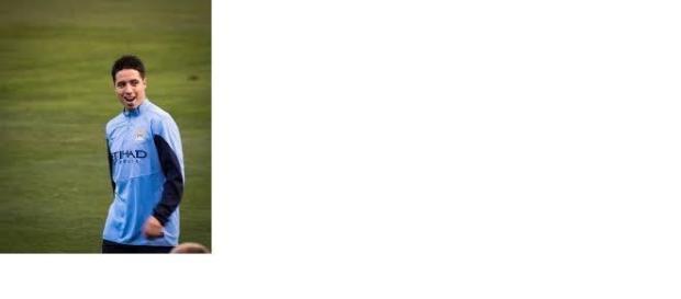 Nasri scored for City against Roma