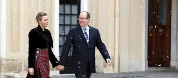 Princesa Charlene do Mónaco e Príncipe
