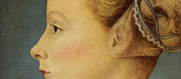 Una delle dame del Pollaiolo