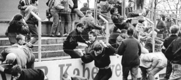 violencia en las canchas de futbol