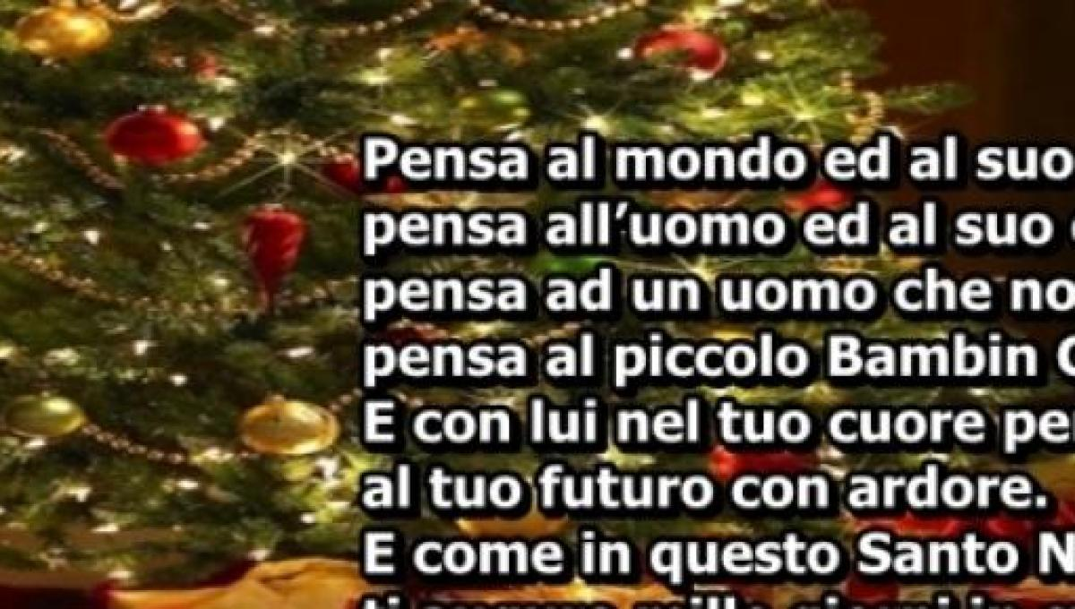 Poesie Di Natale In Rima Baciata.Ecco 5 Frasi Di Natale Originali In Rima Perfette Per I Vostri Auguri