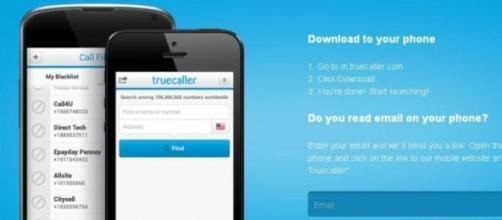 Truecaller : un phonebook en ligne