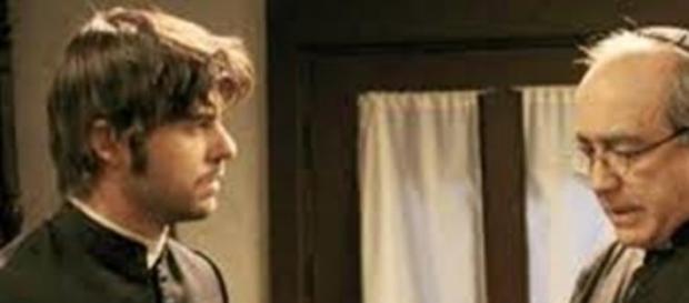 Gonzalo confessa a don Anselmo il suo amore.
