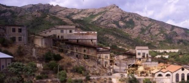 La miniera di Montevecchio, a Guspini