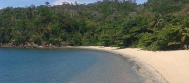 Praia de Pitangueiras: fusão com a natureza