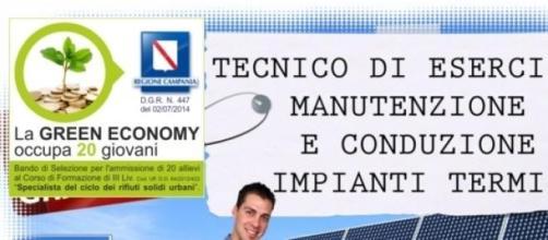 Corsi formazione nella green economy in Campania