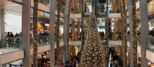O fenómeno das compras de Natal.