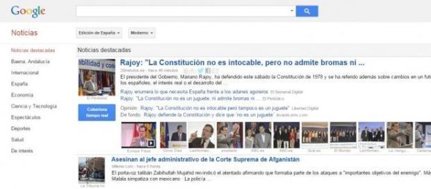 España se quedará sin Google News