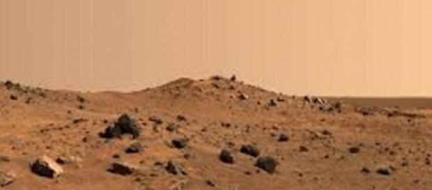 Imagem do solo do planeta Marte