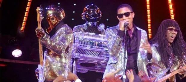 Pharrell Williams et les Daft Punk