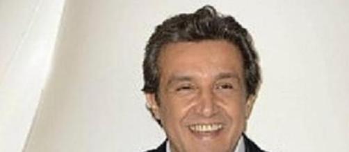 L'attore e presentatore Flavio Insinna