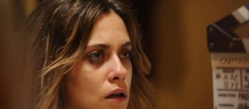 """María León en el rodaje de """"Carmina y amén"""""""