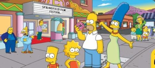 Imagen del 24º aniversario de Los Simpson