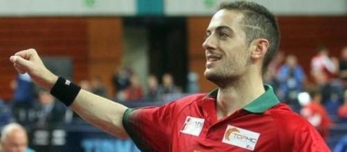 Marcos Freitas, orgulho no ping-pong!