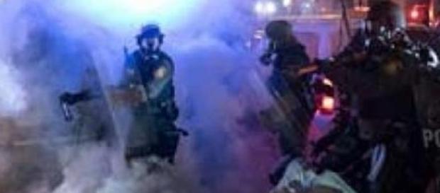 actos de violencia policial se producen en EEUU