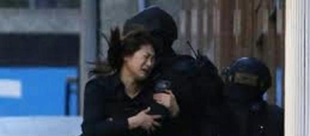 La Polizia in azione a Sidney