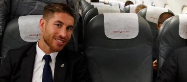 Los capitanes en el vuelo hacia Rabat. Foto: RM