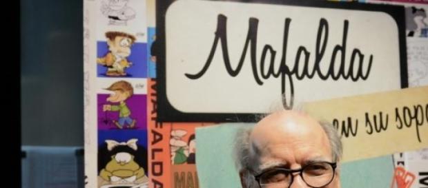 """Para Quino, """"Mafalda es tan sólo un dibujo"""""""