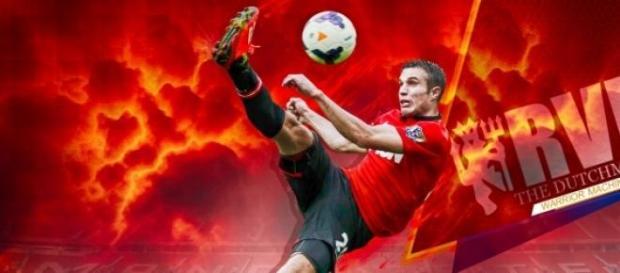 Van Persie, o goleador de Manchester