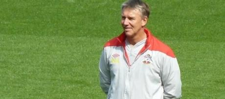 Football coach Nigel Adkins