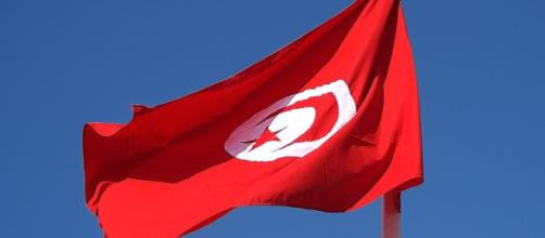 Drapeau Tunisie 2014 - CC BY -