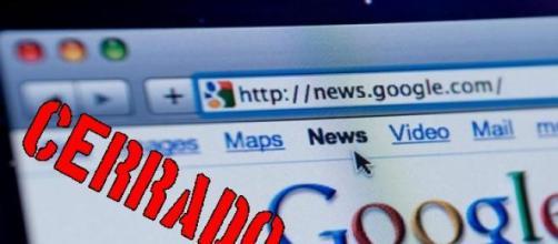 El indexador de noticias Google en españa cerrado