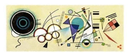 Google homenajea a Wassily Kandinsky en su doodle