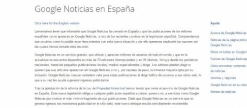 Google News se despide de los usuarios españoles