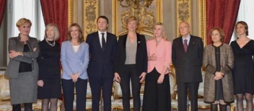 Riforma pensioni 2015 Napolitano, Renzi e ministre