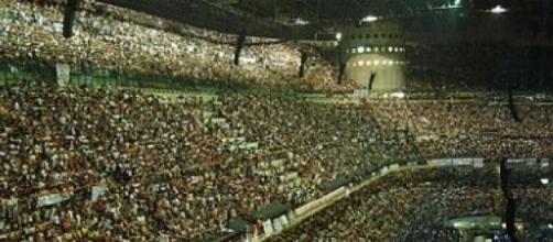 Uno dei concerti del re del rock italiano Vasco