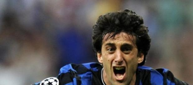 Diego Milito en una foto de archivo.