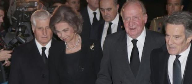 Doña Sofía y Don Juan Carlos, Reyes eméritos.