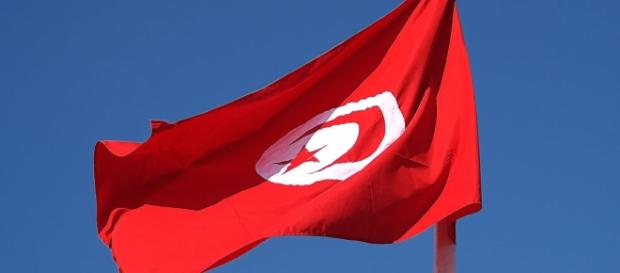 Drapeau Tunisie 2014 - CC BY -