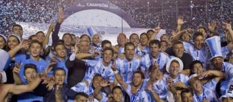 El Racing campeon en argentina