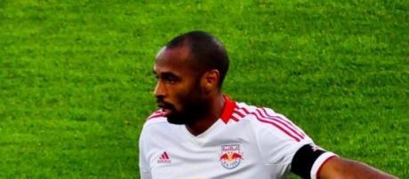 Thierry Henry com a camisola do New York Red Bulls