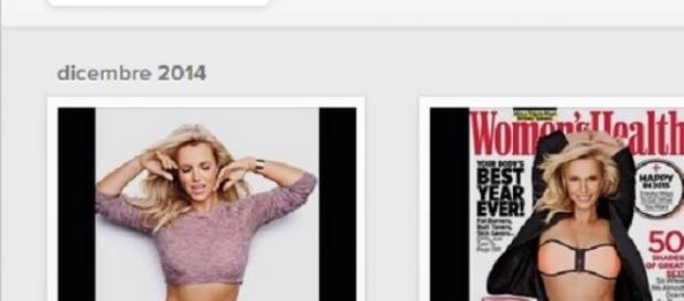 Britney Spears in cover (Instagram/Britney Spears)