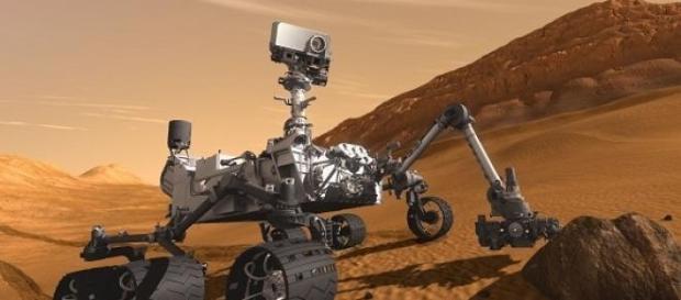 Curiosity detecta compuestos orgánicos en Marte.