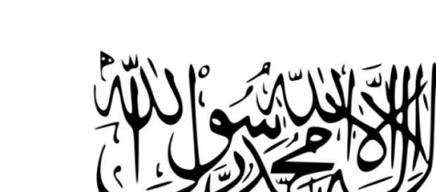 Drapeau actuel des Talibans