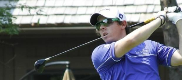 Golf player Rory McIlroy
