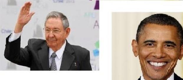 Raúl Castro y Obama de acuerdo